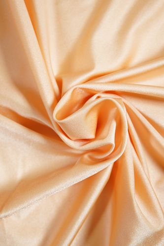 Stretch lycra fabric peachy nude